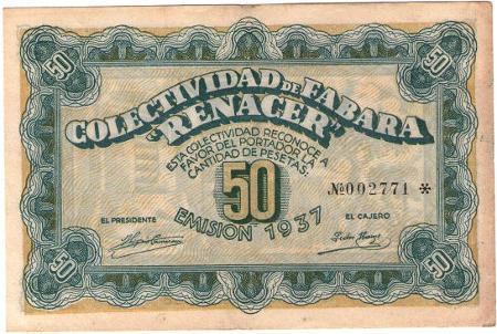 Algunos de los billetes que circulaban por las diferentes colectividades, que fueron prohibidos por el gobierno de Juan Negrin.
