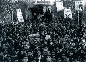 Anarquistas en el 1° de Mayo de 1919, Santiago