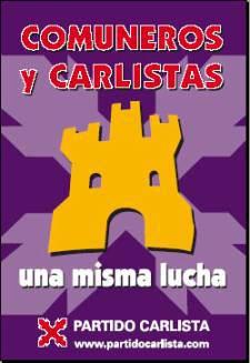 Los carlistas también reivindican a los comuneros