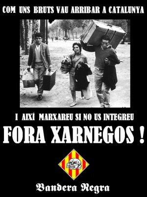 Más propaganda catalanista xenófoba