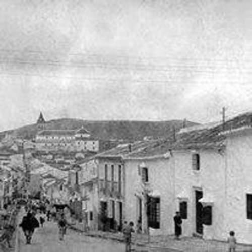 El malagueño pueblo de Teba en 1949. IMANO