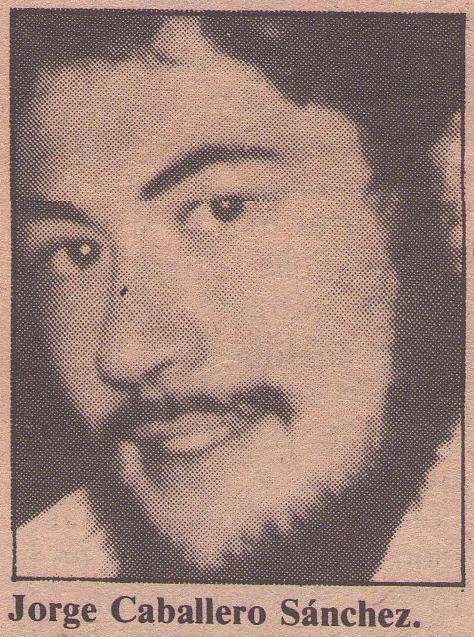 Jorge Caballero Sánchez, anarquista asesinado el 28-3-80 por el fascio español