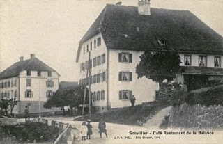 Sonvillier, restaurante Libra, donde se celebró el congreso fundacional de la Federación del Jura