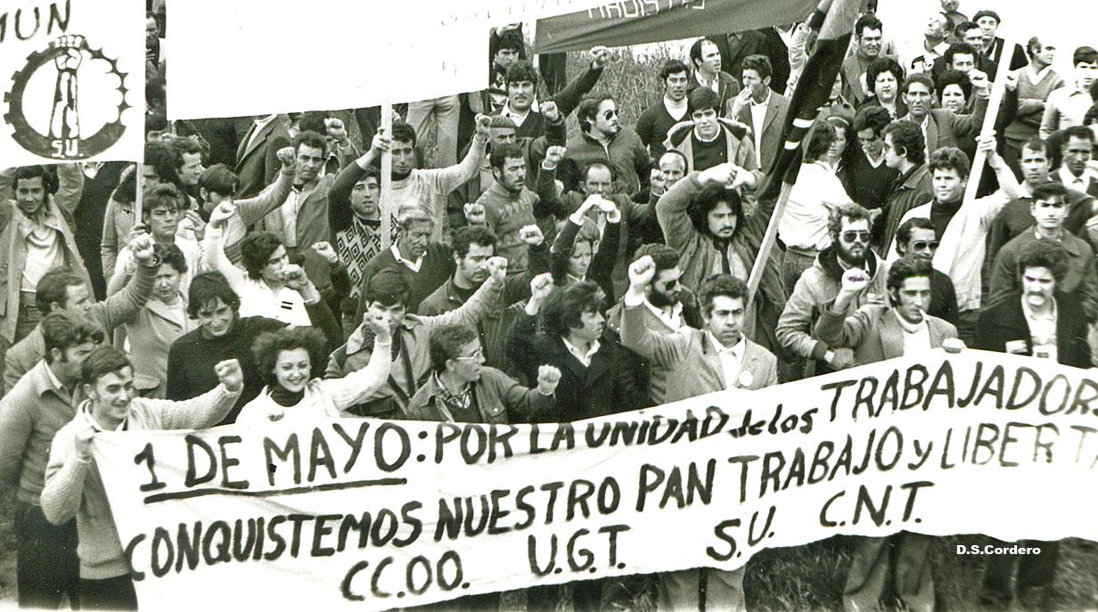 Historia del movimiento obrero en España.