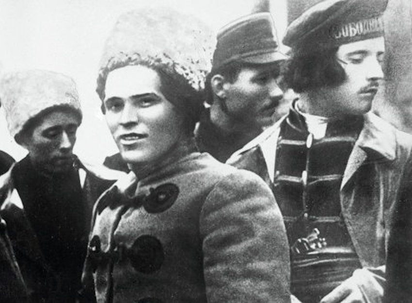 Historia del anarquismo en Rusia.