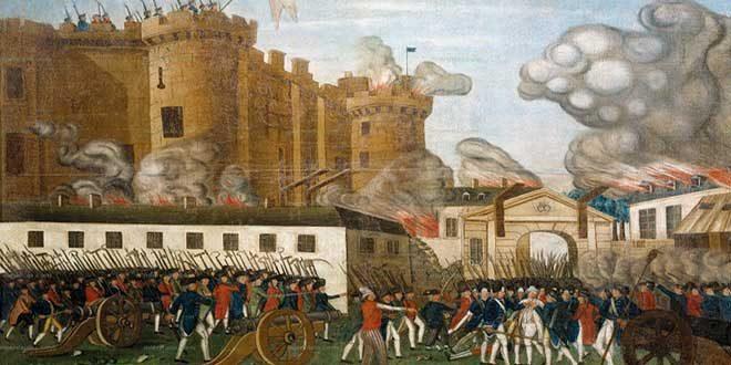 La Revolución Francesa de 1789.