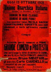 Unión anarquista italiana.