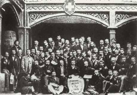 El Primer Congreso de la Internacional año 1866